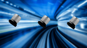 Small dimension versions of the SMD hybrid capacitors HVPF and HVPC from SUNCON.
