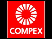The COMPEX company logo.