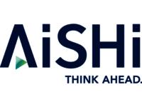 The AISHI company logo.