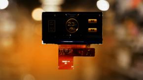 "YEEBO's new 2.0"" Bar-TFT display has a resolution of 320x130 pixels."