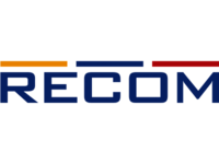 The RECOM company logo.