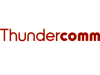 The THUNDERCOMM company logo.