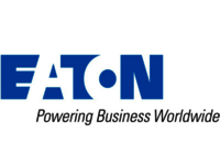 The EATON company logo.