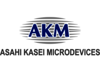 The AKM company logo.
